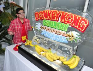 Photo Advisory: Modern Family's Rico Rodriguez Chills Out with Donkey Kong Country: Tropical Freeze for Nintendo's Wii U. Photos Available on Business Wire's Website and AP PhotoExpress