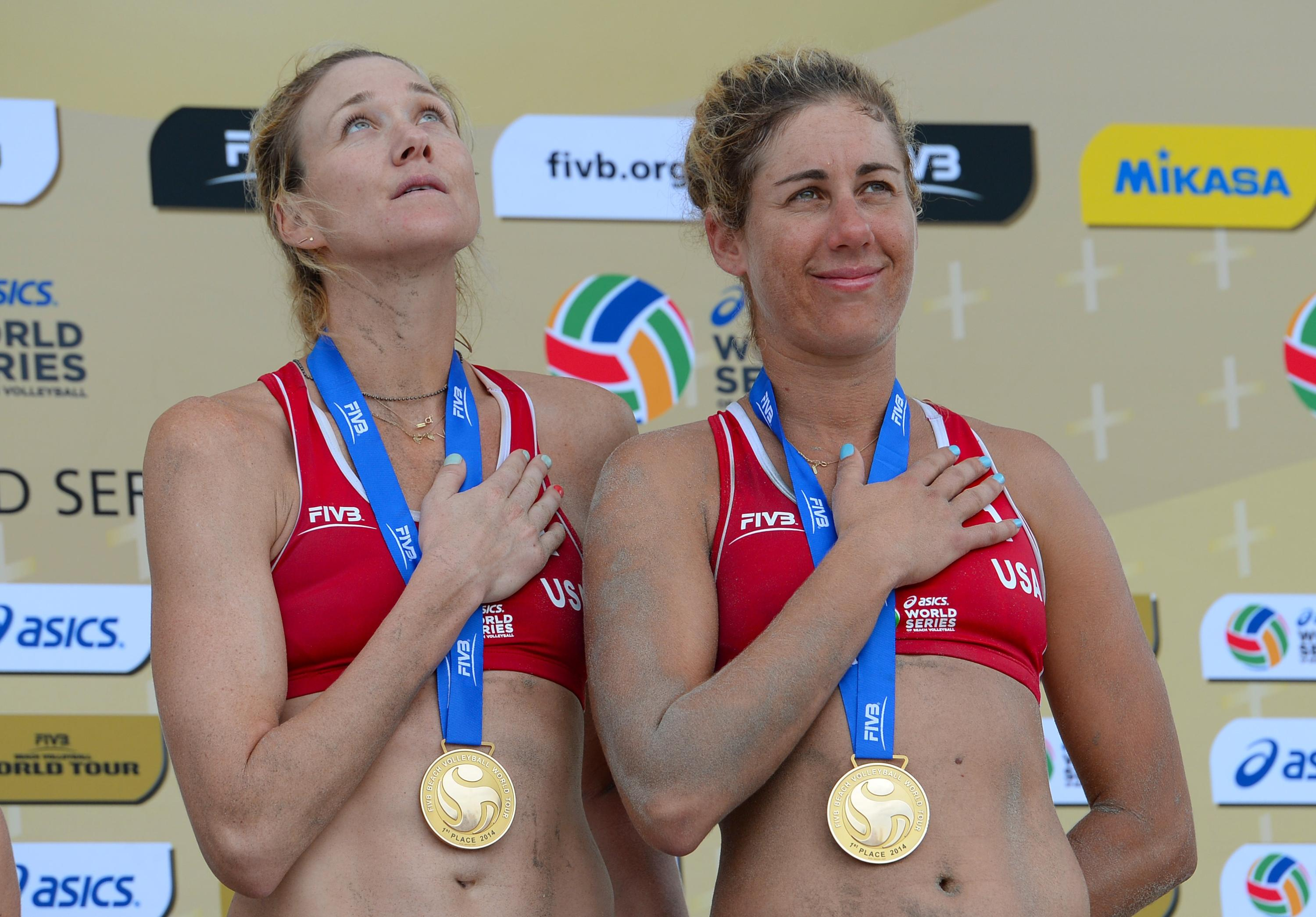 Still a year out, Kerri Walsh Jennings and April Ross are ready for Rio