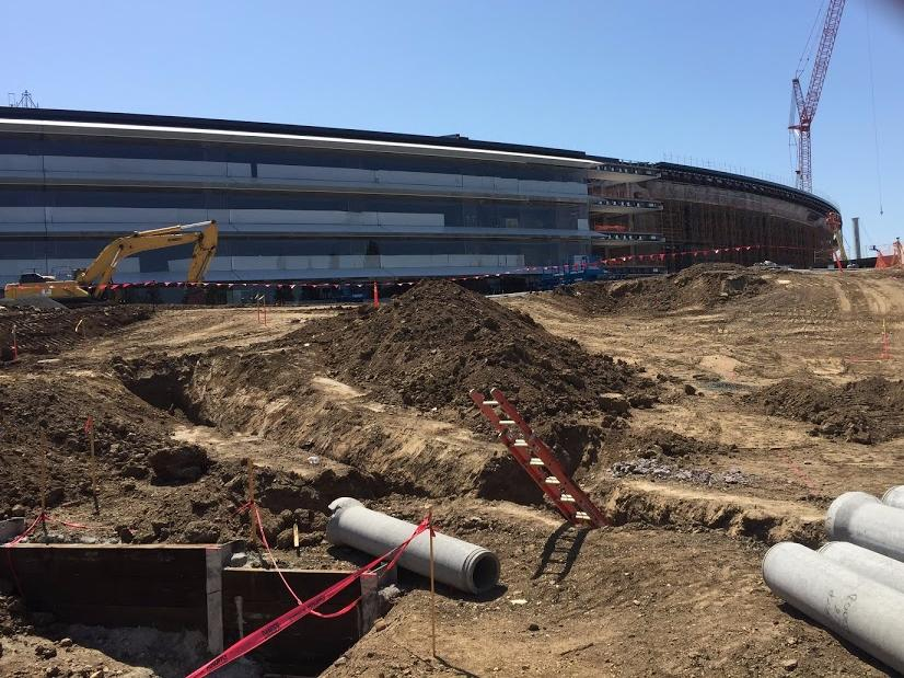 What Apple's $5 billion 'spaceship' campus looks like 6 months from finish