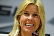 Spanish Formula One driver Maria De Villota, pictured in March 2012, has lost her right eye as a result of an accident she suffered during testing in England on Tuesday, her Marussia team said Wednesday