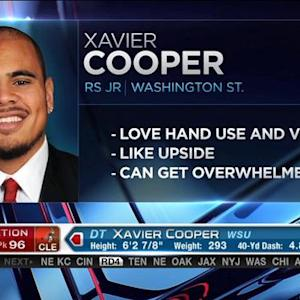 Cleveland Browns pick tackle Xavier Cooper No. 96 in 2015 NFL Draft