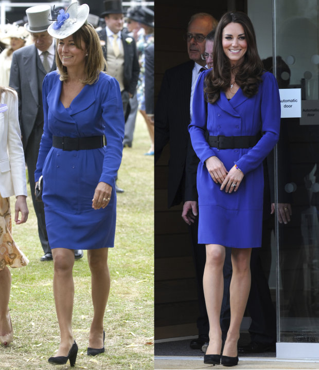 1. Kate y Carole Middleton