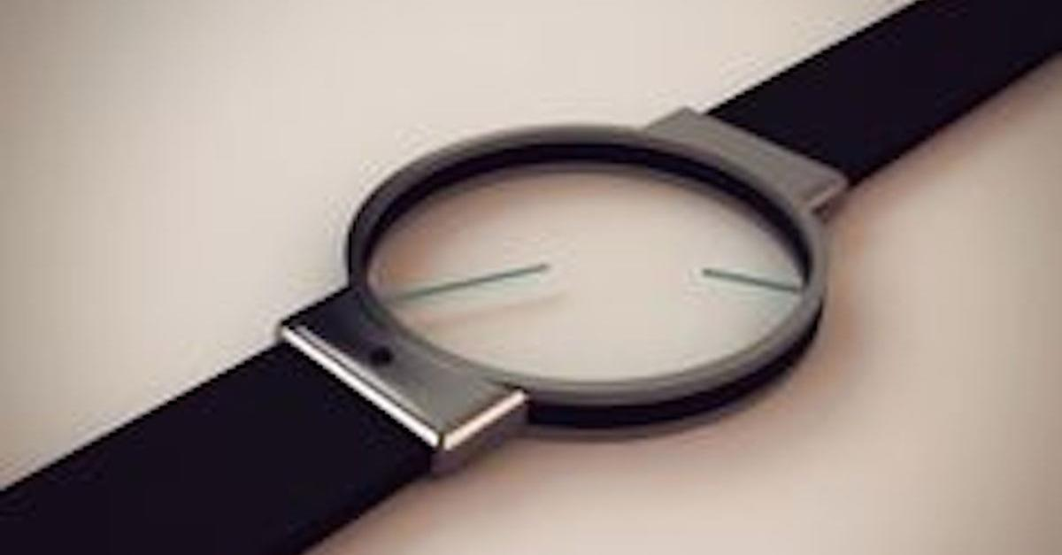 20 Watches That Will Blow Your Mind