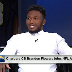 San Diego Chargers cornerback Brandon Flowers: 'I want to be back with the Chargers'