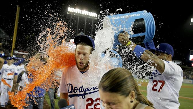 Kershaw throws no-hitter, Dodgers rout Rockies 8-0