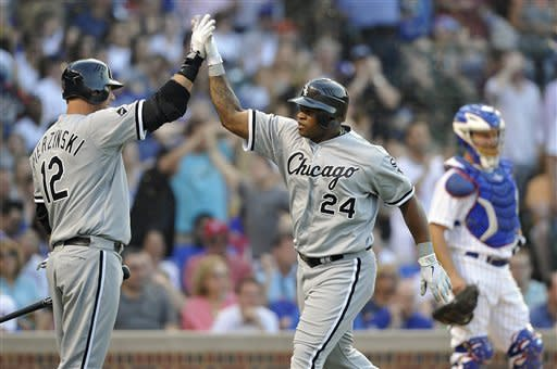 Danks solid as White Sox beat Cubs 7-4