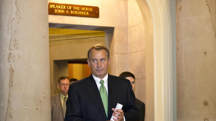 'Cliff' movement? Obama, Boehner trade proposals