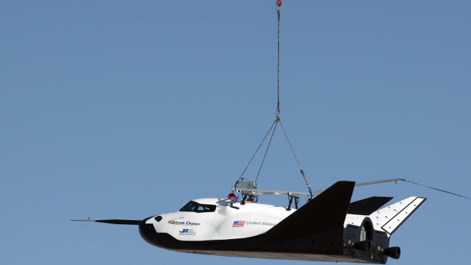 Colo. company tests spacecraft in Calif. desert