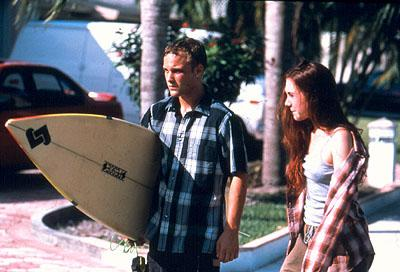 Brad Renfro and Rachel Miner in Lions Gate's Bully