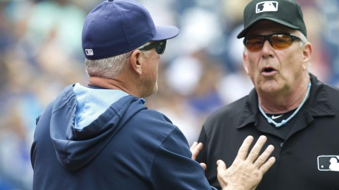 MLB denies Rays' weekend protest in Toronto