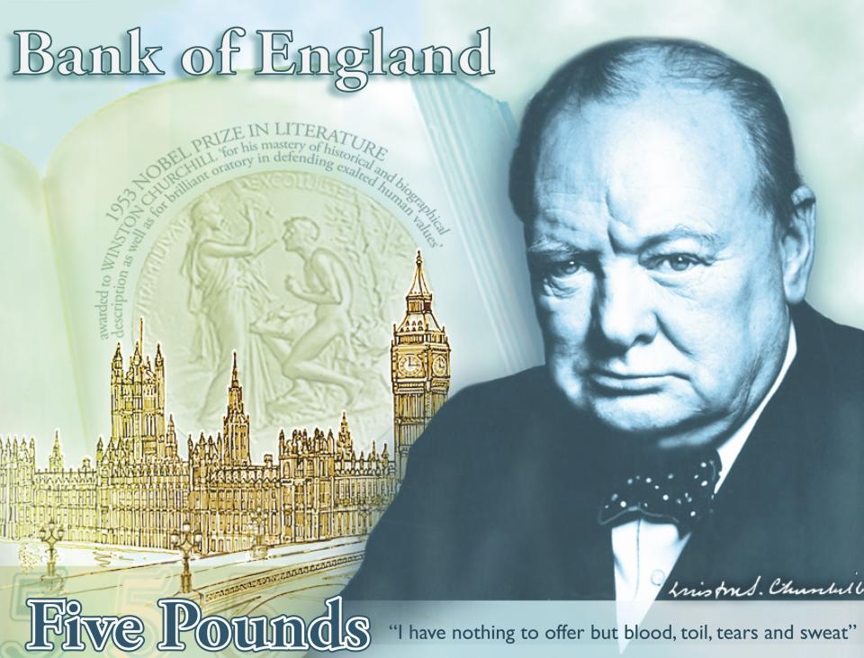 Finest Hour: Churchill to be on UK bank note