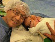 Mimi Lo and Power Chan welcome baby girl