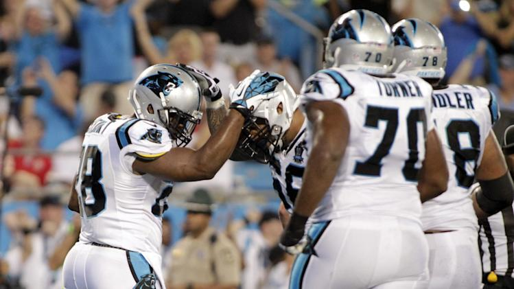 Rivera: Panthers OL rounding into shape