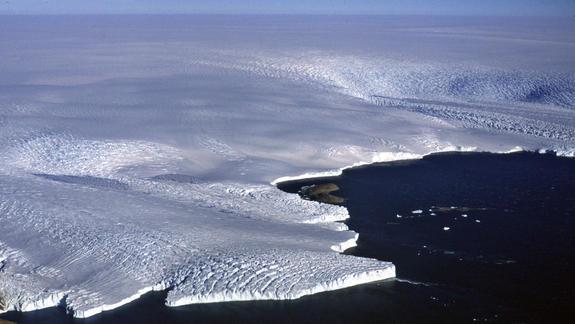 Spy Satellite Data Reveal Antarctic Ice Vulnerability