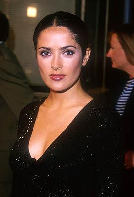 Salma Hayek at the Mann Village Theater premiere of Warner Brothers' Three Kings