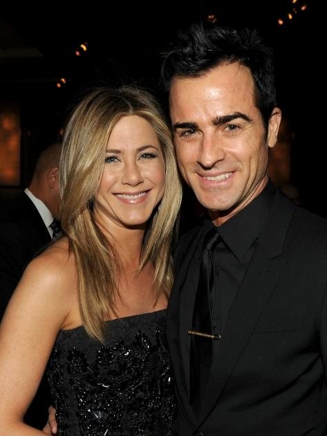 Writer and actor Justin Theroux proposed to Jennifer Aniston in August 2012 -- Getty Images