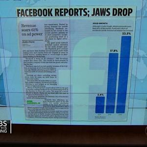 Headlines at 7:30: Facebook boasts impressive revenue numbers