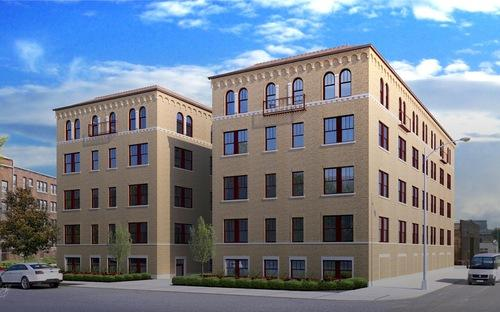 Renderings Revealed: Rainer Court Rehab Expects New Apartments By Summer