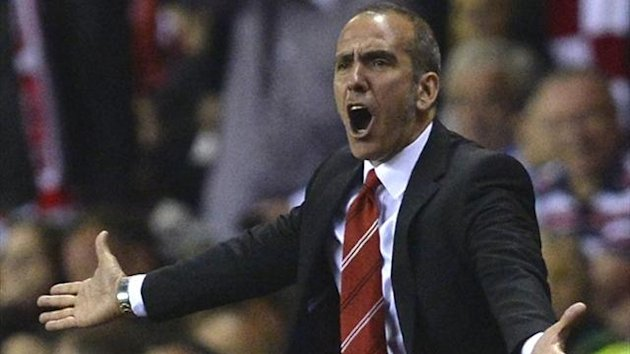 Sunderland's manager Paolo Di Canio reacts during their Premier League match against Stoke City (Reuters)