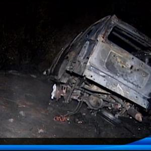 DUI suspect arrested after fiery crash
