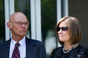 James Carville, Mary Matalin to Leave CNN