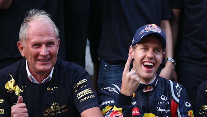 Marko hits back at Vettel critics