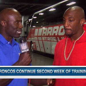 Denver Broncos cornerback Aqib Talib: Peyton Manning has helped me get better