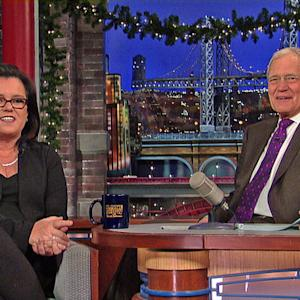 """Rosie O'Donnell Talks """"The View"""" - David Letterman"""