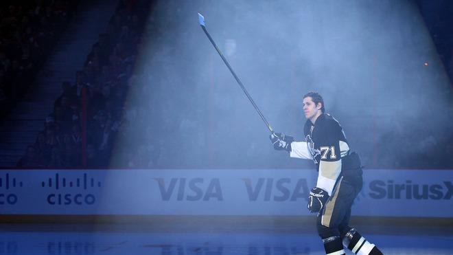 Evgeni Malkin #71 Of The Pittsburgh Penguins Gets Getty Images