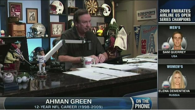 Ahman Green on replacement officials