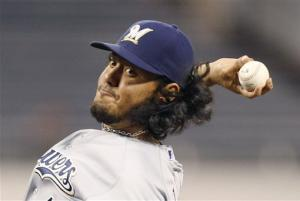 Gallardo shuts down Pirates as Brewers cruise 6-0