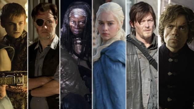 Stars of 'Game of Thrones' and 'The Walking Dead'  -- HBOAMC