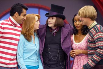 Kal Penn , Jayma Mays , Crispin Glover , Faune Chambers and Adam Campbell in 20th Century Fox's Epic Movie