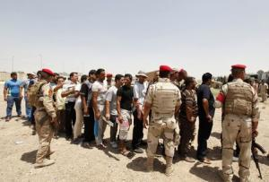 Volunteers who have joined the Iraqi Army to fight…
