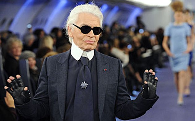 Karl Lagerfeld Criticises French Government In Spanish Marie Claire