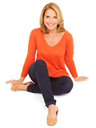 katie couric sitting