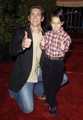 Premiere: Steve Howey and Mitch Holleman at the Hollywood premiere of Warner Brothers' Harry Potter and The Chamber of Secrets - 11/14/2002