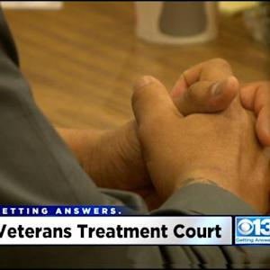Inside Look: Sacramento County Court Gives Veterans In Trouble With The Law A Second Chance