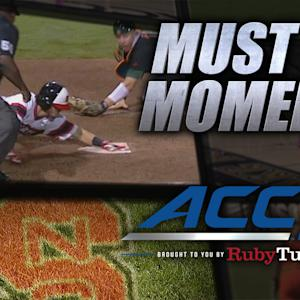 NC State's Palmeiro Scores Game-Winner on Crazy Play | ACC Must See Moment