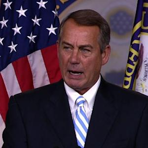 "Boehner dings Senate Democrats for ""nutso"" immigration ""scheme"""
