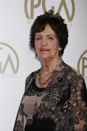 "Philomena Lee, whose life was featured in the Oscar Best Picture nominated film ""Philomena"", arrives at the 25th Annual Producers Guild of America Awards in Beverly Hills"