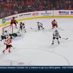Darcy Kuemper Save on Andrew MacDonald (18:26/1st)