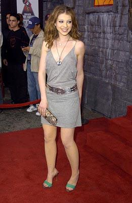 Michelle Trachtenberg, star of Inspector Gadget MTV Movie Awards - 6/5/2004