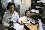 Chinese labour advocate Han Dongfang the Radio Free Asia studio prior to his weekly show in Hong Kong in 2008. For people living in countries where the the government monitors and censors the Internet, help is on the way