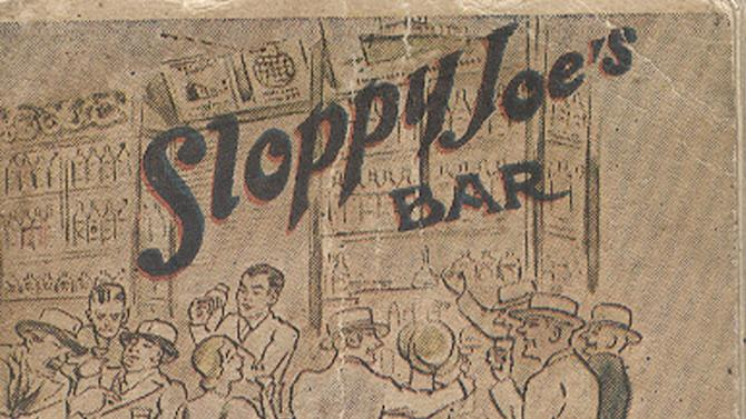 This image courtesy of Sloppy Joe's Bar, shows a copy of a 1933 menu from Sloppy Joe's, a Havana celebrity hangout. Sloppy Joe's will be reopened in February 2013 by the state-owned tourism company Habaguanex, part of an ambitious revitalization project by the Havana City Historian's Office, which since the 1990's has transformed block after block of crumbling ruins into rehabilitated buildings along vibrant cobblestone streets. Sloppy Joe's was founded in 1918 by a Galician immigrant named Jose Abeal Otero who purchased a grocery store in Old Havana after years of tending bar in New Orleans and Miami. Legend has it the sobriquet comes from the place's grubbiness and Abeal's American nickname, Joe. (AP Photo/Sloppy Joe's Bar)