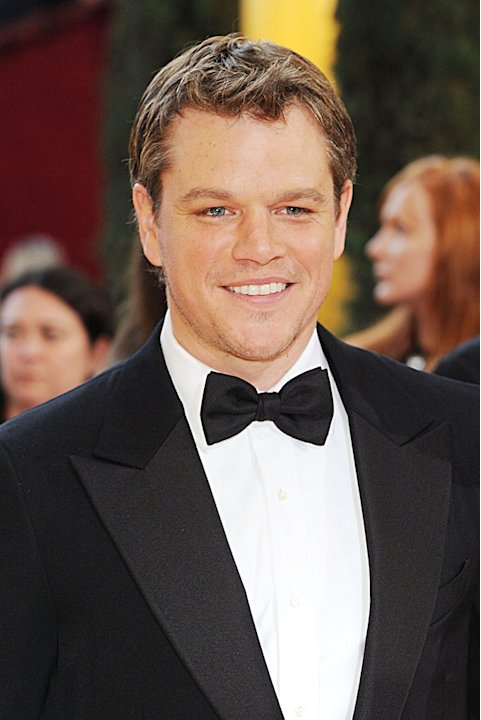 Matt Damon Annual Acad Awds
