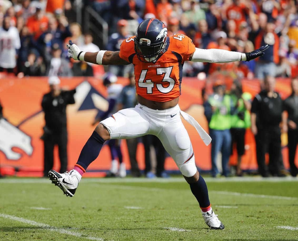 Defense saves the day in Denver; Broncos beat Vikings 23-20