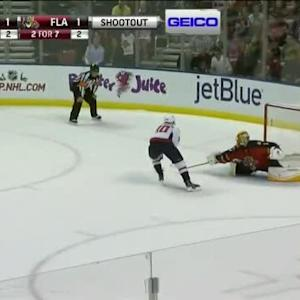 Roberto Luongo Save on Marcus Johansson (00:00/SO)