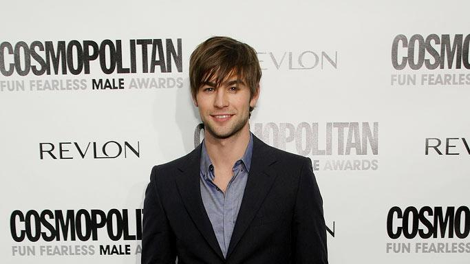 Chace Crawford arrives at Cosmopolitan's 2009 Fun Fearless Awards at the SLS Hotel on March 2, 2009 in Beverly Hills, California.