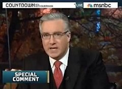 Keith Olbermann back on MSNBC